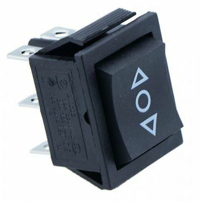 2 x On-Off-On Rectangle Rocker Switch DPDT