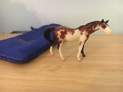 Breyer Coco 712214 Glossy Pinto Thoroughbred Mare Stablemate Club Model Horse