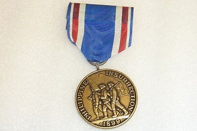 U.s.a.medal - For Philippine Insurrection, Official Government Re-Ussue