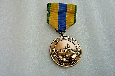 U.s.a.medal - Mexico 1911-1917, Official Government Re-Ussue