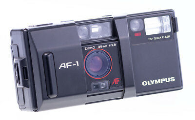 "Olympus AF-1 35 mm f 2,8 Point and Shot Camera  Tested and Working "" Nurepika """