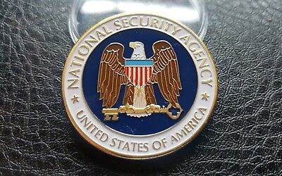 Collectable Usa National Security Agency Washington Dc Challenge Coin