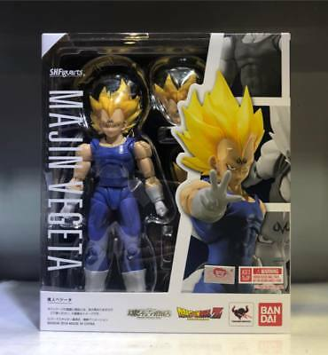 In Stock Tamashii Dragonball Dragon ball Z S.H.Figuarts SHF Majin Vegeta Figure