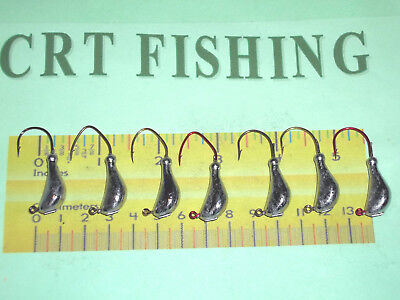 25 3//8oz Sparkie Jigs on Eagle Claw 413 Saltwater 2//0 3//0 or 4//0 Hooks