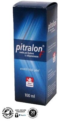 PITRALON F aftershave - with vitamin F - 100 ml / 3.4 fl oz (Czech product)