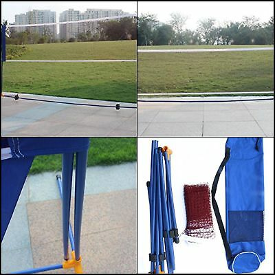Portable Badminton Volleyball Tennis Net Set with Stand Frame Outdoor 10 ft