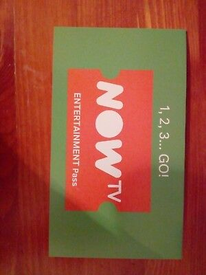 NOW TV * 2 Month Entertainment Pass not a promo code