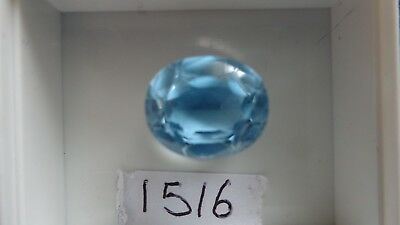 Faceted Topaz...ref: 1516.