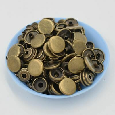 50 sets of a package. Metal snap fastener metal buttons Rivet clasp. jacket .Chi