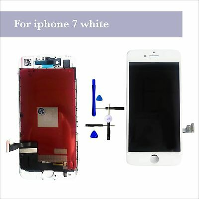"For White iPhone 7 4.7"" LCD Touch Screen Digitizer Display Replacement Assembly"