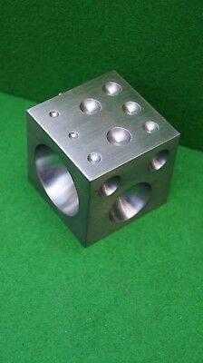 2'' Solid Steel Doming/Dapping Block. Perfect for Jewellery/Horological use