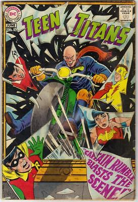 TEEN TITANS #15 - JUNE 1968 - GD (2.0)  Would grade higher but for water damage.