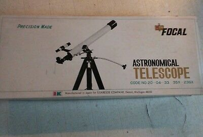 focal astronomical telescope