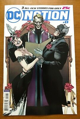 DC Nation #0 Batman Joker 1:250 Variant Cover Mann DC Comics Catwoman Wedding