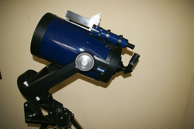 "Meade 10"" Schmidt-Cassegrain Telescope Model 2120, little used, with accessories"