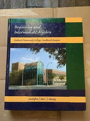 Beginning and intermediate algebra custom edition grossmont beginning and intermediate algebra oakland community college edition fandeluxe Choice Image