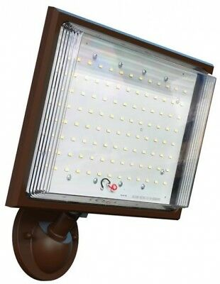 Defiant Bronze Led Outdoor Security Flood Light Switch Controlled