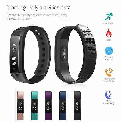 Latest Activity Tracker Heartrate Smart Watch Kids Pedometer For Fit Bit Style