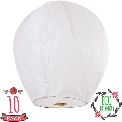 SKY HIGH Coral Entertainments chinese lanterns biodegradable and fully 10-pack
