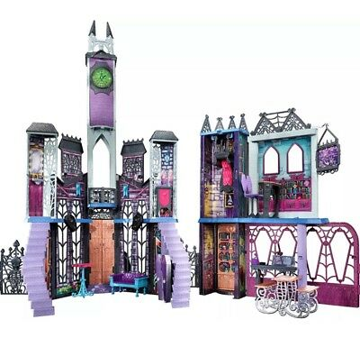 Mattel Monster High Mega Monsterschule Monster High Schloss Haus Spielset