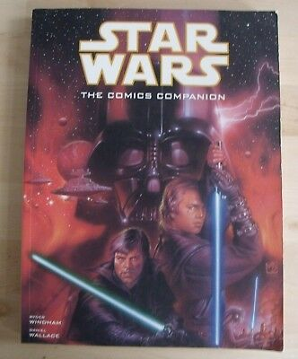 STAR WARS The Comics Companion BOOK Ryder Windham Daniel Wallace NEW
