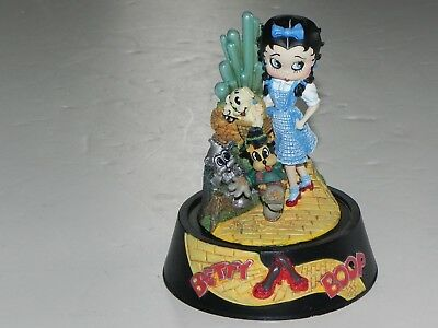 """1999 KING HEARST BETTY BOOP-""""SOMEWHERE OVER THE RAIN""""  LIMITED EDITION-Sculpture"""