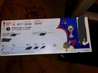 FIFA WM 2018 Ticket