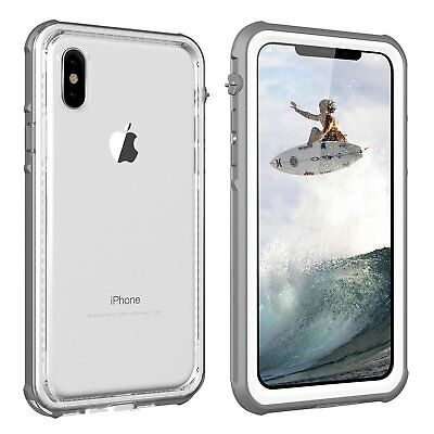 iPhone X Case| IMZ Design Slim Waterproof Shockproof Cover with Screen Protector