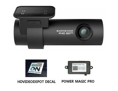 NEW BlackVue DR750S-1CH Full HD dash cam with Power Magic Pro