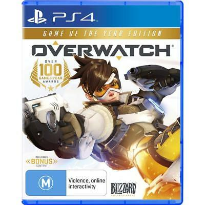 Overwatch Game Of The Year Edition PlayStation 4 PS4 GAME BRAND NEW FREE POSTAGE