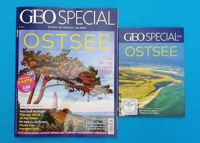 Geo Special Travel, entdecken. Experience 3/2018 with DVD Baltic Sea UNREAD 1A