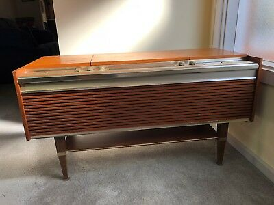 Vintage HMV Gramaphone Record / Radio Player -Solid State Stereophonic Rhapsody