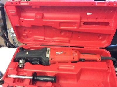 "Milwaukee 1680-20 Super Hawg 1/2"" Right Angle Drill with Case 46136-3"