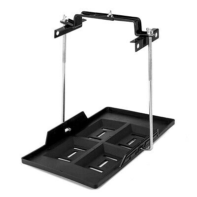 Car Battery Tray Adjustable Hold Down Boat Caravan Clamp Bracket Cycle 135-200mm