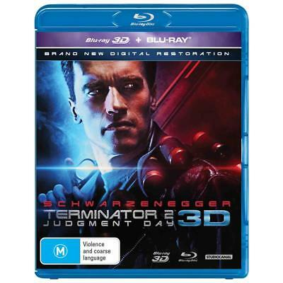 Terminator 2 Judgement Day Blu-ray 3D + 2D BRAND NEW SEALED Region B FREE POST