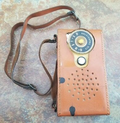 GE GENERAL ELECTRIC SIX TRANSISTOR RADIO 1950's Model P-765B