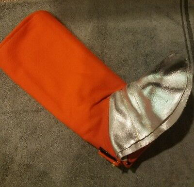 Welding Spats PPE Safety Equipment Leather Boot Fire Retardant Leg Cover New