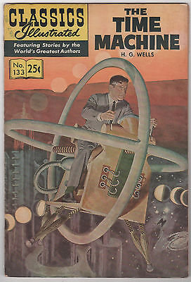 Classics Illustrated- The Time Machine #133, Winter 1971, HRN169