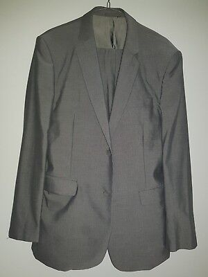 Conner grey suit pants and jacket mens
