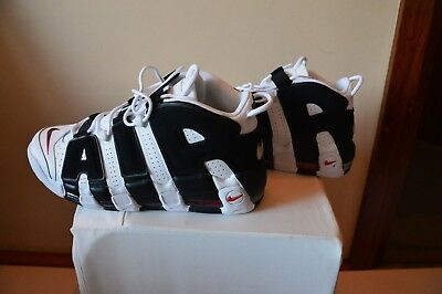 Nike Air More Uptempo - US11.5 (White/Black) - 'Pippen' Air Max
