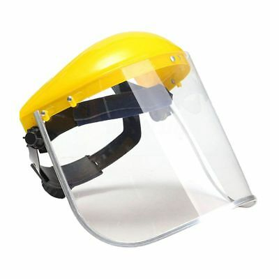 1x Clear Safety Grinding Face Shield Screen Mask For Visors Eye Face Protec B1F6