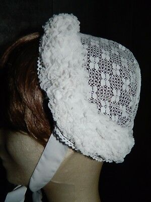 coiffe ancienne N1 FRENCH vintage ,old lace headdress french