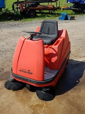 Johnson Diversey Industrial Battery Powered Ride On Sweeper Spares Repairs