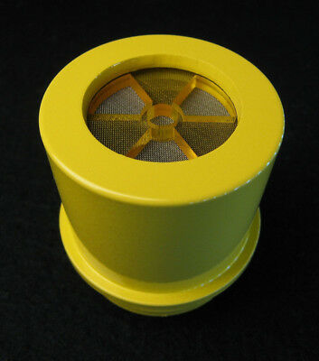 Sturdy Yellow Speaker for CDV700 Geiger Counter w/YELLOW Transparent Trefoil Cap