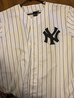 New York Yankees 2xl White Jersey Authentic New majestic