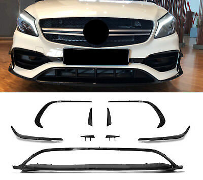 original a 45 amg aero spoiler flaps flics a klasse w176. Black Bedroom Furniture Sets. Home Design Ideas