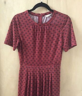 Stunning Ruby Red vintage dress size 8