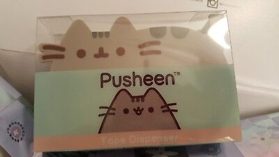 Pusheen Tape Dispenser from Spring 2018 Box Exclusive/Super cute ~ NEW IN BOX!
