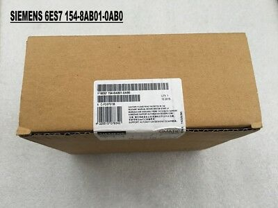 100% NEW SIEMENS 6ES7 154-8AB01-0AB0 in box 6ES7154-8AB01-0AB0