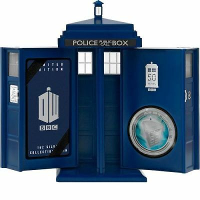 Doctor Who 50th Anniversary 2013 NEW 1oz 999 Silver Proof Coin BNIB Perth Mint